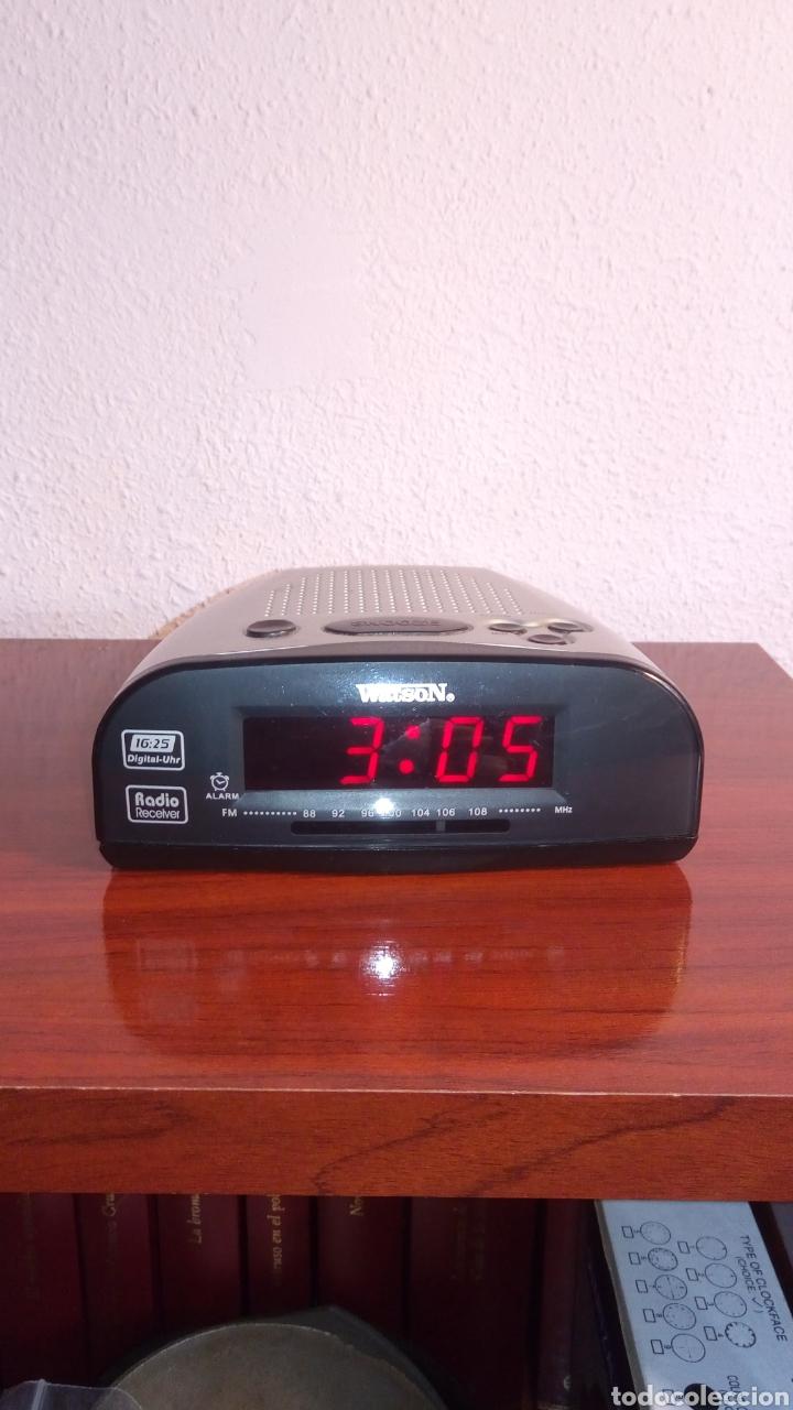 RADIO RELOJ DIGITAL WATSON (Radios, Gramófonos, Grabadoras y Otros - Transistores, Pick-ups y Otros)