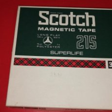 Radio antiche: SCOTCH MAGNETIC TAPE 215 LONG PLAY 3M COMPANY. Lote 202713270
