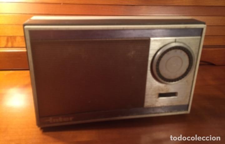 Radios antiguas: Antiguo transistor Inter conserva funda - Foto 2 - 202777491