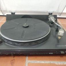 Radios antiguas: TOCADISCOS VINTAGE AIWA AP-2200. Lote 203176442