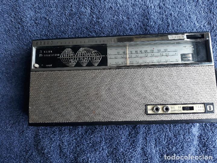 RADIO SANYO TRANSCONTINENTAL (Radios, Gramófonos, Grabadoras y Otros - Transistores, Pick-ups y Otros)