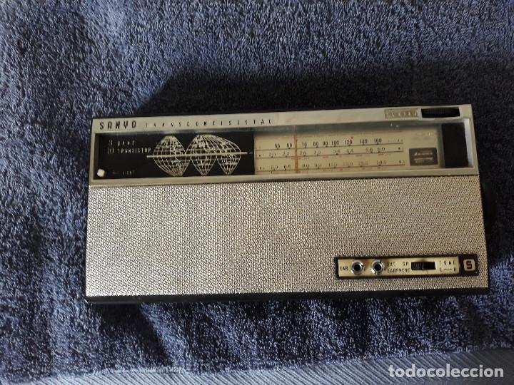Radios antiguas: Radio SANYO Transcontinental - Foto 3 - 203354460