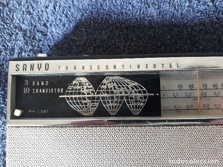 Radios antiguas: Radio SANYO Transcontinental - Foto 4 - 203354460