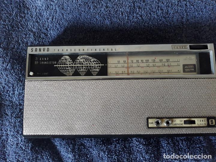 Radios antiguas: Radio SANYO Transcontinental - Foto 5 - 203354460