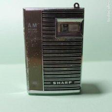 Radios antiguas: APARATO DE RADIO. TRANSISTOR. MODELO SHARP AM SOLID STATE. BP-102.B. DOS PILAS AA NORMALES. AÑOS 70.. Lote 236768655