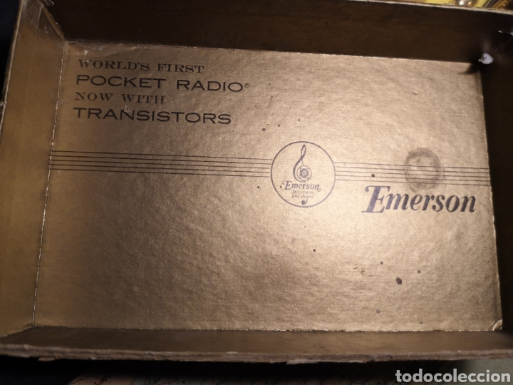 Radios antiguas: Radio emerson - Foto 4 - 203556836