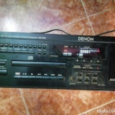 Radios antiguas: DENON DN-T620 COMBO DE CD Y CASETE PRO AUDIO ESTÉREO FUNCIONA. Lote 203856517