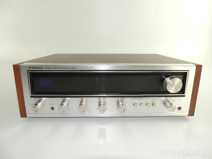 STEREO RECIVER MARCA PIONEER MODEL SX-434 (Radios, Gramófonos, Grabadoras y Otros - Transistores, Pick-ups y Otros)