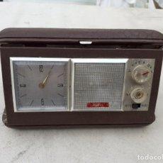 Radios antiguas: RADIO RELOJ TRANSISTOR. Lote 204138816