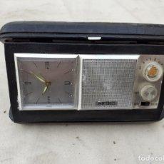 Radios antiguas: READIO RELOJ TRANSISTOR. Lote 204139065
