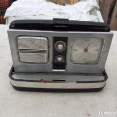 Radios antiguas: RADIO RELOJ TRANSISTOR. Lote 204139235