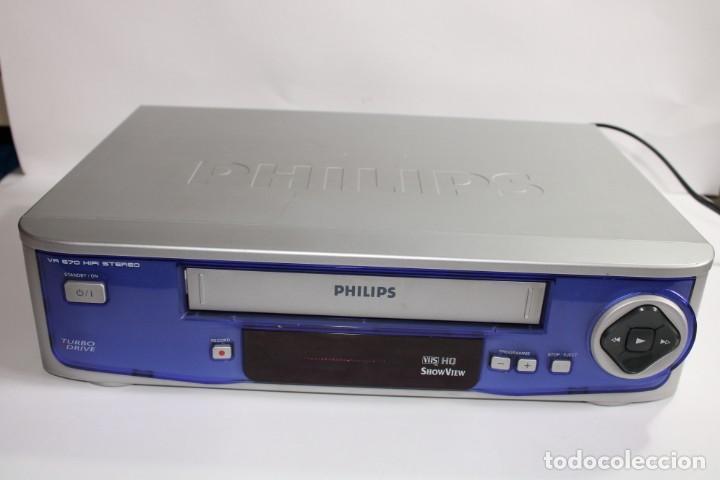 PHILIPS VR 670 HIFI STEREO (Radios, Gramófonos, Grabadoras y Otros - Transistores, Pick-ups y Otros)