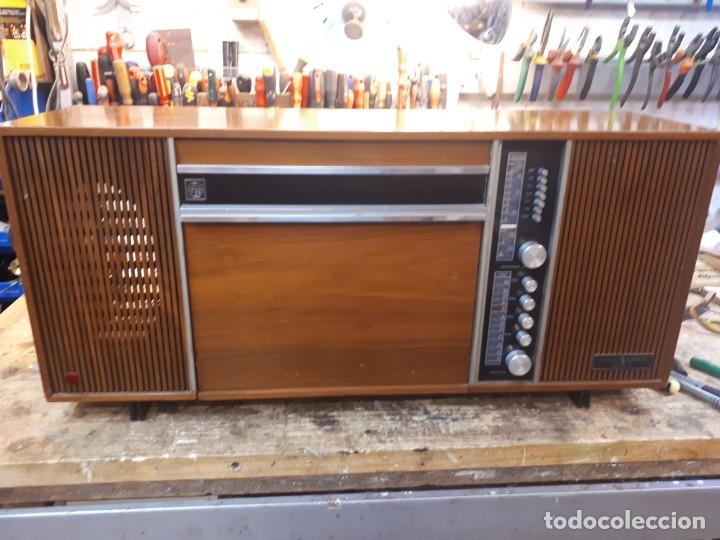 Radios antiguas: General Eléctrica Española, mueble radio y tocadiscos. - Foto 31 - 204661712