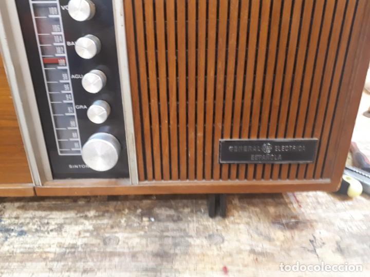 Radios antiguas: General Eléctrica Española, mueble radio y tocadiscos. - Foto 36 - 204661712