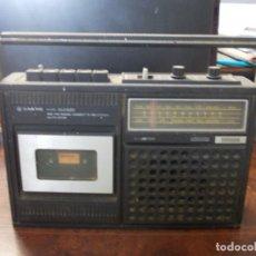Radios antiguas: RADIO CASSETTE RECORDER AUTO STOP SANYO MODEL M2420, NO FUNCIONA, PARA PIEZAS O REPARAR. Lote 271617373