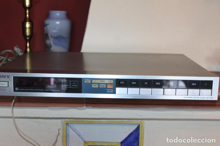 SINTONIZADOR DIGITAL ESTEREO SONY (Radios, Gramófonos, Grabadoras y Otros - Transistores, Pick-ups y Otros)
