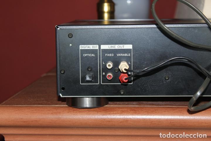 Radios antiguas: REPRODUCTOR CD MARCA SONY MODELO CDP711 CON MANDO A DISTANCIA - Foto 4 - 204796537
