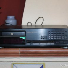 Radios antiguas: REPRODUCTOR CD MARCA SONY MODELO CDP711 CON MANDO A DISTANCIA. Lote 204796537