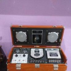 Radios antiguas: SPIRIT OF ST LOUIS. RADIO ALARM CLOCK. S.O.S.L COLLECTION. NEW YORK - PARIS. VER LAS IMÁGENES. Lote 205072518