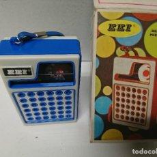 Radios antiguas: RADIO TRANSISTOR EEI. Lote 215838165