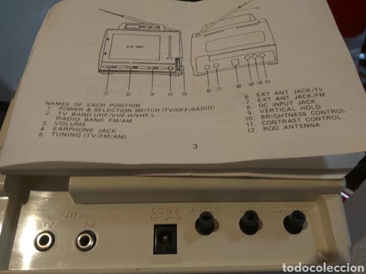 Radios antiguas: RADIO TV 4.5 PULGADAS NUEVA A ESTRENAR - Foto 2 - 54013441