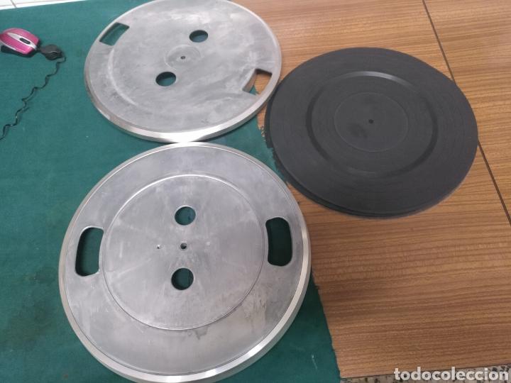 Radios antiguas: Giradiscos y platos de aluminio - Foto 4 - 205328731