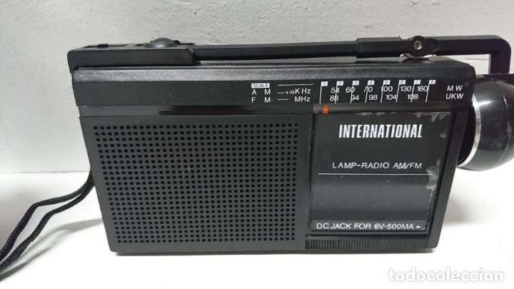 RADIO LINTERNA INTERNATIONAL (Radios, Gramófonos, Grabadoras y Otros - Transistores, Pick-ups y Otros)