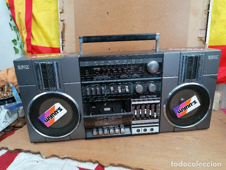 Radios antiguas: RADIO CASSETE 2WAY ULTRA RETRO DECORATIVO - Foto 2 - 205511560