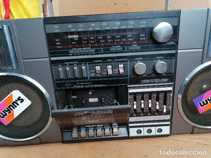 Radios antiguas: RADIO CASSETE 2WAY ULTRA RETRO DECORATIVO - Foto 3 - 205511560