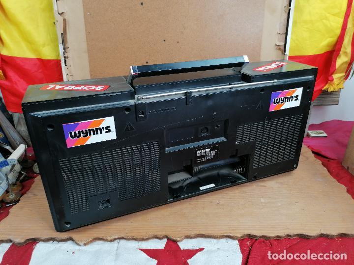 Radios antiguas: RADIO CASSETE 2WAY ULTRA RETRO DECORATIVO - Foto 4 - 205511560
