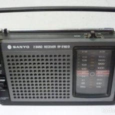 Radios antiguas: RADIO SANYO 2 BANDAS RP6160 D. Lote 205652216