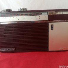 Radios antiguas: RADIO LAVIS CON FUNDA DE CUERO ORIGINAL. Lote 205652820