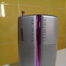 Radios antiguas: RADIO GRUNDING DE BOLSILLO. Lote 205692216