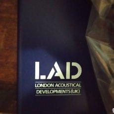 Radios antiguas: LONDON ACUSTICAL LAD DOBLE GIRADISCOS!!! NUEVO SIN USAR. Lote 205744987