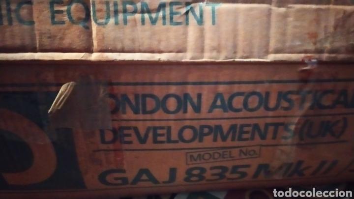 Radios antiguas: London acustical LAD doble giradiscos!!! Nuevo sin usar - Foto 4 - 205744987