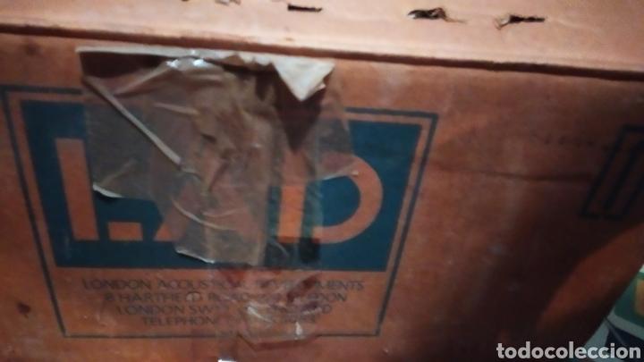 Radios antiguas: London acustical LAD doble giradiscos!!! Nuevo sin usar - Foto 3 - 205744987