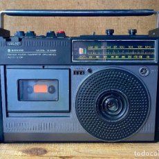 Rádios antigos: ANTIGUA RADIO CASSETTE TRANSISTOR RECORDER SANYO M 2422 M2422. Lote 205748162