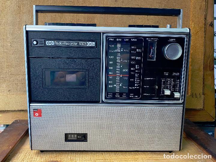 RADIO RECORDER BASF 9301. MADE IN GERMANY 1973. (Radios, Gramófonos, Grabadoras y Otros - Transistores, Pick-ups y Otros)