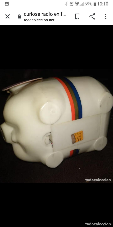 Radios antiguas: Piggy bank radio transistor en caja nueva a estrenar - Foto 2 - 205882060