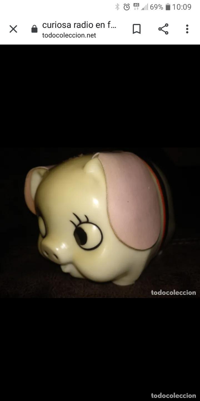 Radios antiguas: Piggy bank radio transistor en caja nueva a estrenar - Foto 4 - 205882060