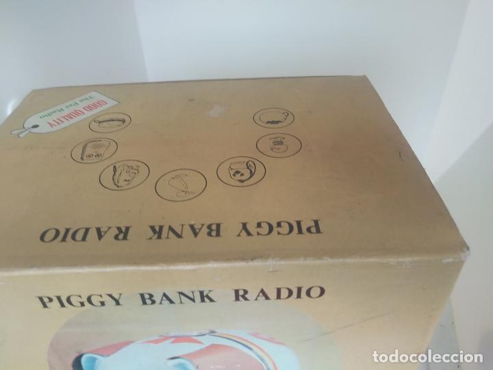 Radios antiguas: Piggy bank radio transistor en caja nueva a estrenar - Foto 5 - 205882060
