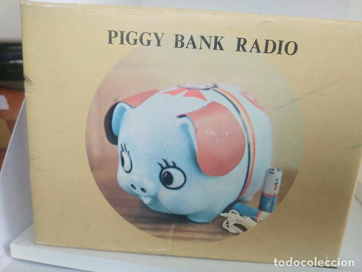 Radios antiguas: Piggy bank radio transistor en caja nueva a estrenar - Foto 6 - 205882060