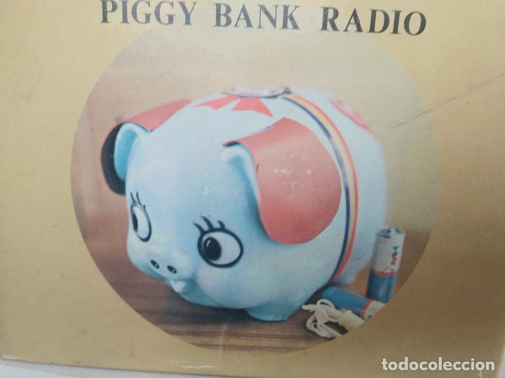 PIGGY BANK RADIO TRANSISTOR EN CAJA NUEVA A ESTRENAR (Radios, Gramófonos, Grabadoras y Otros - Transistores, Pick-ups y Otros)