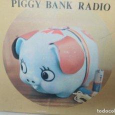 Radios antiguas: PIGGY BANK RADIO TRANSISTOR EN CAJA NUEVA A ESTRENAR. Lote 205882060