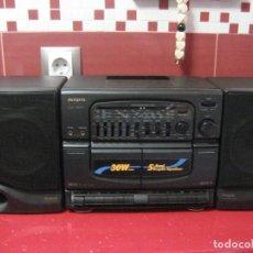 Radios antiguas: RADIO BOOMBOX AIWA. Lote 206254978