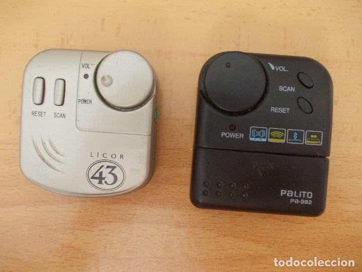 MINI RADIOS PALITO PA982 Y LICOR 43 (Radios, Gramófonos, Grabadoras y Otros - Transistores, Pick-ups y Otros)