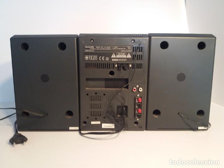 Radios antiguas: FANTÁSTICA MINI CADENA AIWA LCX-100 Y SUS DOS BAFLES - Foto 4 - 206370862