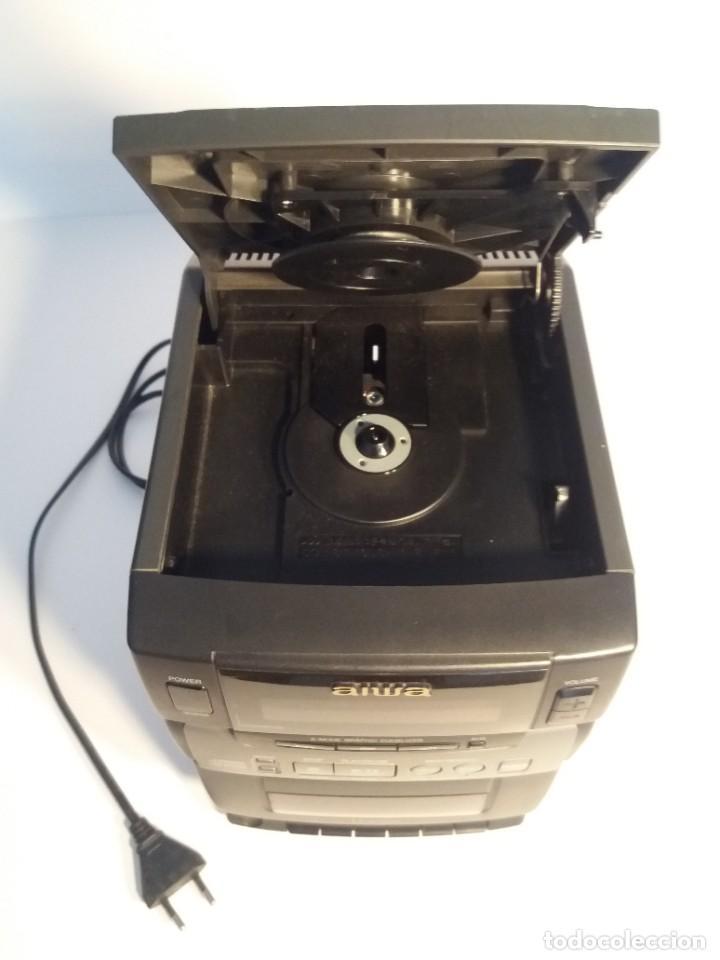 Radios antiguas: FANTÁSTICA MINI CADENA AIWA LCX-100 Y SUS DOS BAFLES - Foto 8 - 206370862