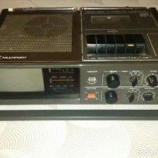 Radios antiguas: TELEVISION RADIO CASSETTE PORTÁTIL MARCA TEC MUTIPORT - FUNCIONA PERFECTAMENTE - PARA COLECCIONISTAS. Lote 206502116