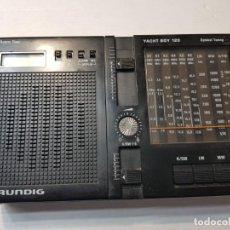 Radios antiguas: RADIO GRUNDIG MODELO YATCH BOY 120. Lote 206512517